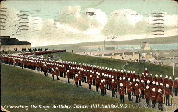 Celebrating The King's Birthday, Citadel Hill Halifax Canada