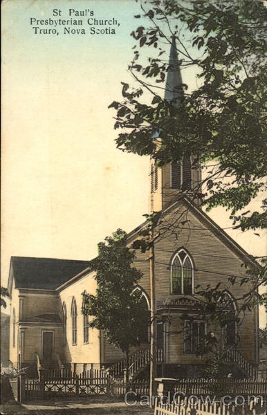St. Paul's Presbyterian Church Truro Canada Nova Scotia