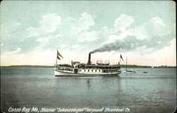Steamer Sebascodegan Harpswell Stemboat Co.