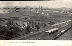 American Sheet Steel Co. Canal Dover Postcard