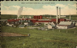 Great Northern Paper Mill Postcard