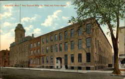 New England Whip Co. Plant And Power House