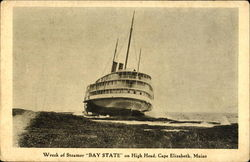 Wreck Of Steamer Bay State
