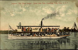 Steamer The Silver Queen Postcard