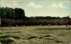 Base Ball Grounds At Light House Point Postcard