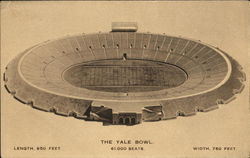 The Yale Bowl Postcard
