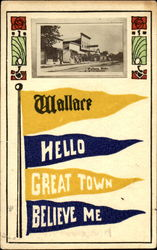 Wallace Hello Great Town Believe Me