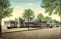 Colonnade Restaurant Postcard