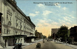 Metropolitan Opera House And North Broad Street