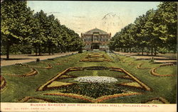 Sunken Gardens And Horticultural Hall