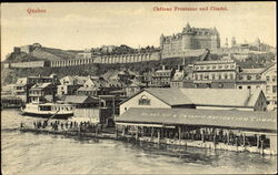 Chateau Frontenac And Citadel