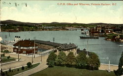 C. P. R. Office And Wharves