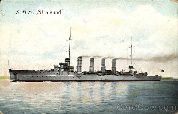 S. M. S. Stralsund Boats, Ships