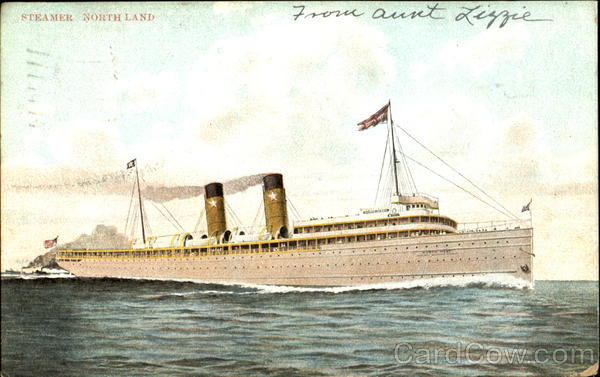 Steamer Northland Boats, Ships