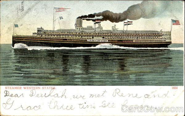 Steamer Western States Boats, Ships