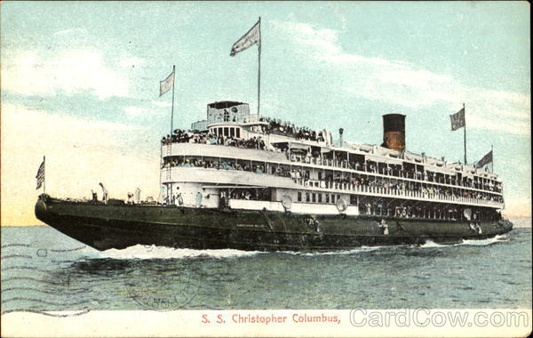 S. S. Christopher Columbus Boats, Ships