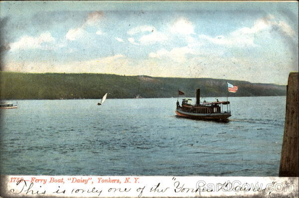Ferry Boat Daisy Yonkers New York Boats, Ships