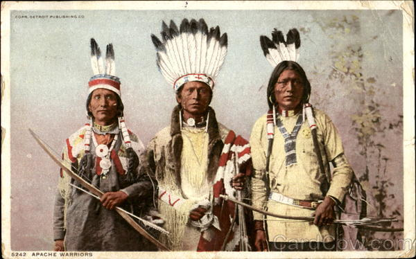 Apache Warriors Native Americana