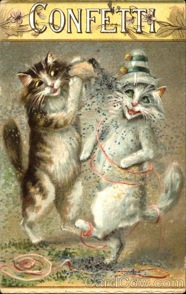 Confetti Maurice Boulanger Cats