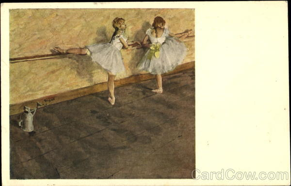 Degas Dancers Practising At The Bar Art