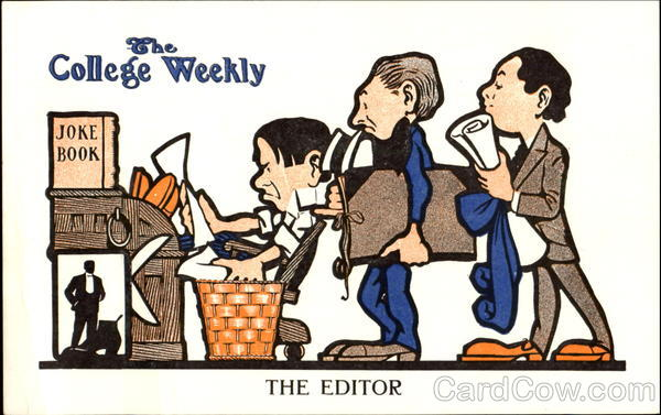 The College Weekly Editor