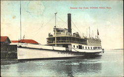 Steamer Gay Head Postcard