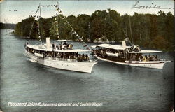 Thousand Islands Steamers Castanet And Captain Visger