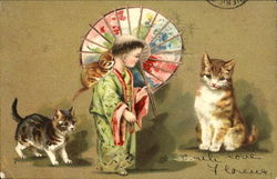 Asian Boy, Cats