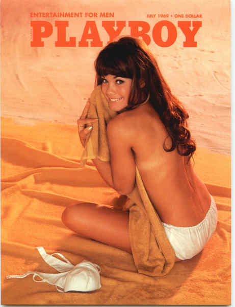 Playboy July 1969 Cover Nancy McNeil