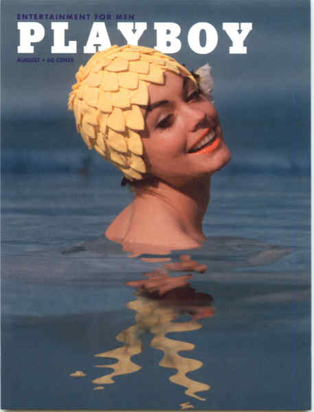 Playboy August 1962 Cover Jan Roberts