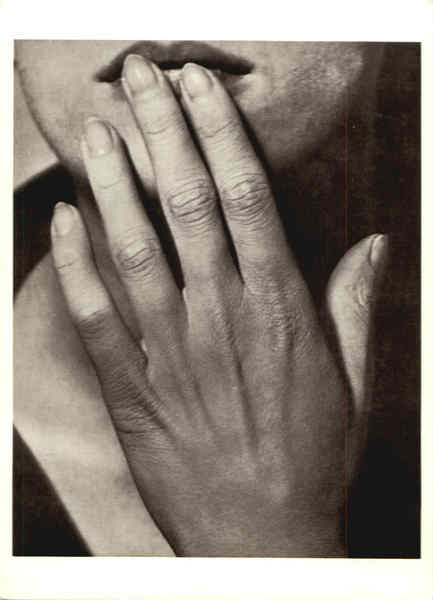 hand on lips 1929 art