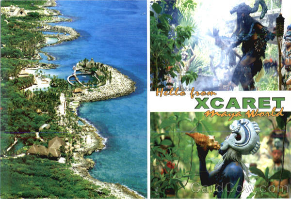 Greetings from Xcaret! Mexico