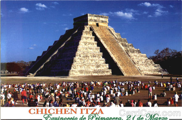 Greetings from Chichen Itza Mexico