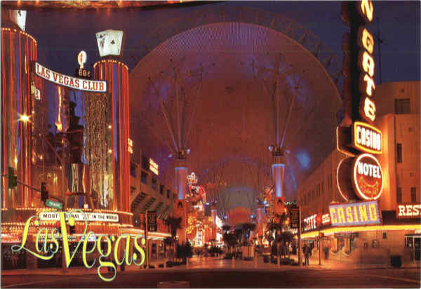 Fremont Street Experience - Downtown Las Vegas Nevada