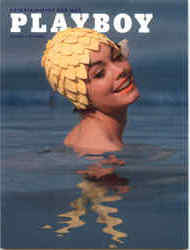 Playboy August 1962 Cover Gesa Meiken