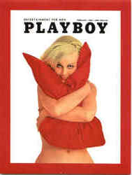 Playboy February 1969 Cover Lorrie Menconi Postcard
