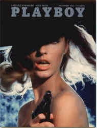 Playboy November 1965 Cover Pat Russo Postcard