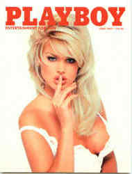 Playboy June 1997 Cover Victoria Silvstedt