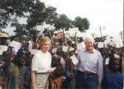 President Jimmy Carter and Rosalynn Smith Carter