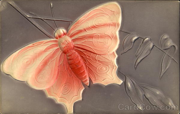Butterfly, Embossed