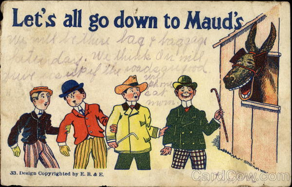 Let's All Go Down To Maud's Comic, Funny