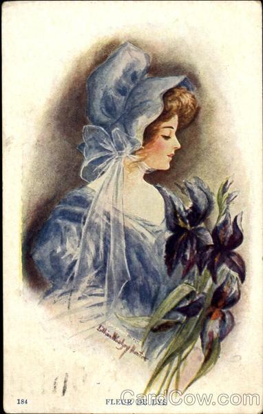 Fleur De Lys Lillian W. Hunter Women