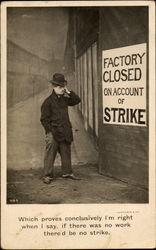 Factory Closed On Account Of Strike