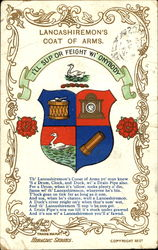 Lancashiremon's Coat Of Arms