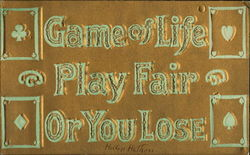 Game Of Life Play Fair Or You Lose