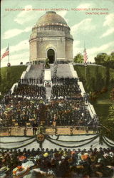 Dedication Of McKinley Memorial