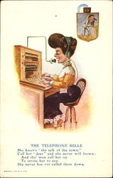 The Telephone Belle