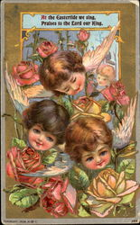 At The Eastertide Postcard