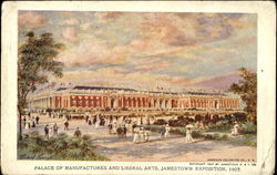 Palace Of Manufactures And Liberal Arts Jamestown Exposition