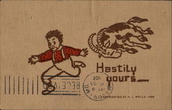 Hastily Yours